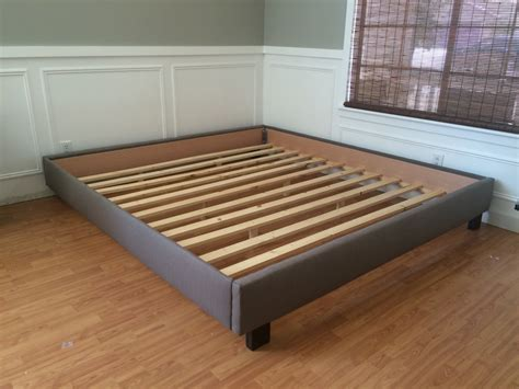 Bed Frames With Headboard Furniture Size High Platform Bed Frame With Drawers No Headboard Gorgeous Minimalist
