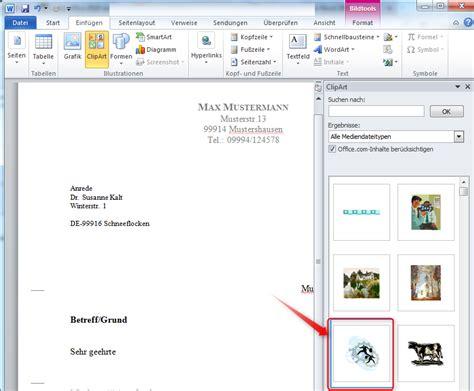 Brief In Word Erstellen Briefkopf Mit Microsoft Word Erstellen