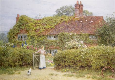 cottages in surrey helen allingham surrey cottage painting surrey cottage