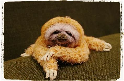 knitted sloth sloth just crocheted no pattern