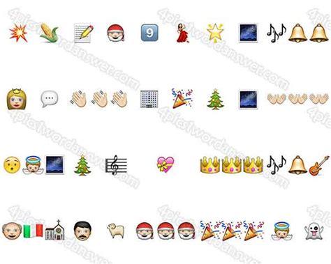 christmas film emoji quiz 100 pics christmas emoji level 41 60 answers 4 pics 1
