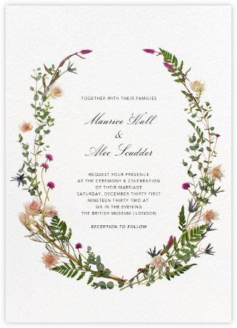 Rustic wedding invitations   online and paper   Paperless