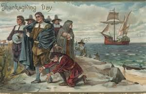 where the first thanksgiving was celebrated by the pilgrims thanksgiving greetings midway village museum collections