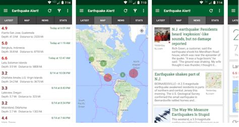 earthquake alert app how to get earthquake alerts directly on your android