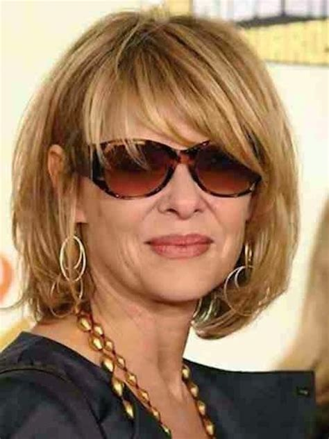 trendy bobs for women over 50 with thin fine hair 21 trendy hairstyles for women over 50 feed inspiration