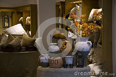 home furniture and decor store royalty free stock photo