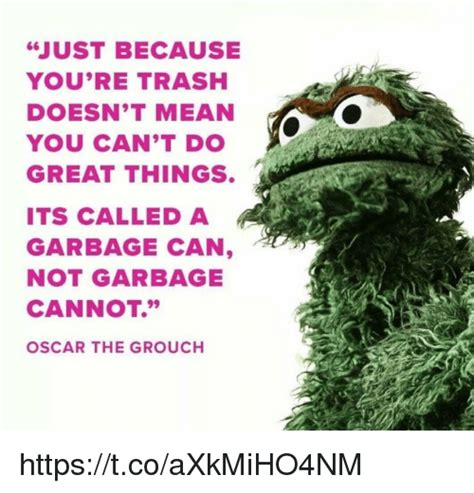 Oscar The Grouch Meme - 25 best memes about garbage can garbage can memes