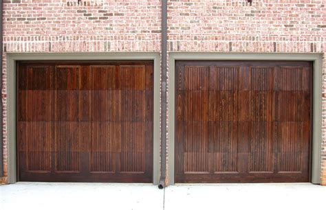 Wood Stained Garage Doors Wood Stained Garage Doors Modern San Diego By Automatic Door Specialists