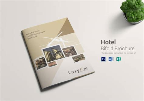 Hotel Brochure Template by 17 Popular Psd Hotel Brochure Templates Free Premium
