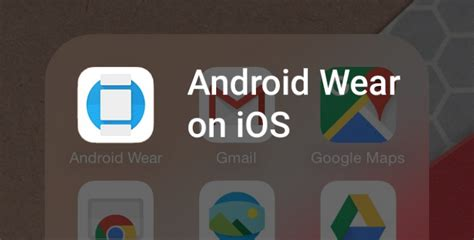 android wear news on with android wear on ios