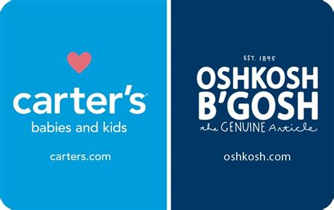 Oshkosh Gift Card Balance - kroger carter s oshkosh b gosh egift