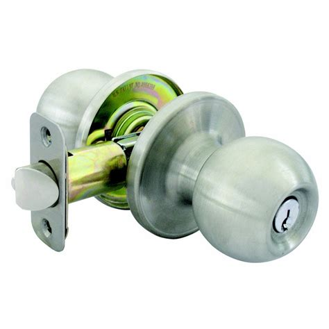 Gate House Door Knobs by Gatehouse T3 Saturn Stainless Steel Residential