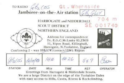 More British Scout Qsl Cards Qsl Card Template 2
