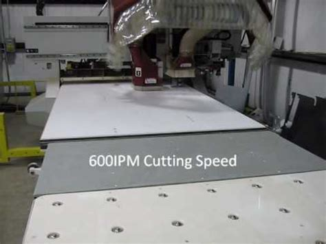 cutting dupont corian 174 at 600ipm with a 1 4 quot router bit