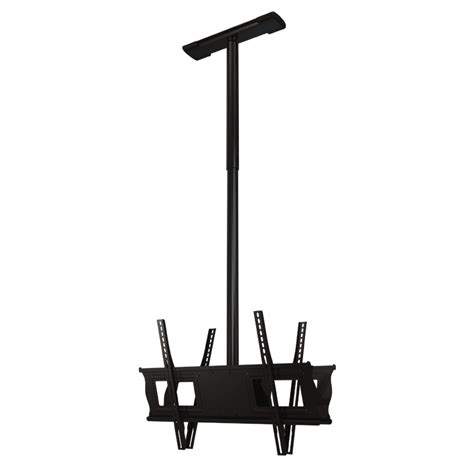 Dual Monitor Ceiling Mount by Crimson Adjustable Height Dual Universal Ceiling Mount