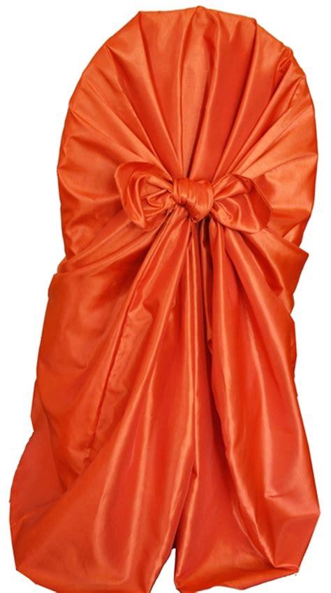 orange universal chair covers orange taffeta universal chair covers wholesale