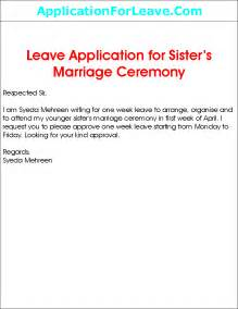 College Leave Letter For Marriage Letter Writing For Leave Application In College Writefiction581 Web Fc2