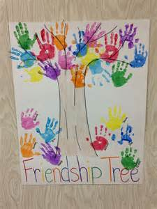 friendship tree template 25 best ideas about preschool friendship activities on