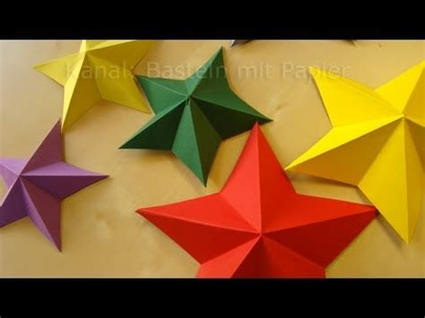 Bilder Selbst Gemacht 3119 by Sterne Basteln Weihnachtssterne Falten