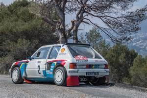 Peugeot Rally Cars Ari Vatanen S Peugeot 205 T16 Rally Car Columnm