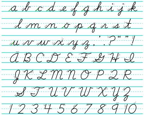 cursive template file cursive svg