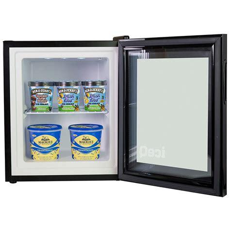 Countertop Freezer Glass Door by Iceq 36 Litre Counter Top Glass Door Display Mini Freezer