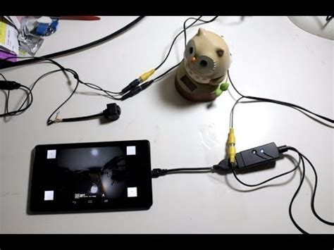 uvc usb av android capture card with backup camera ( rear