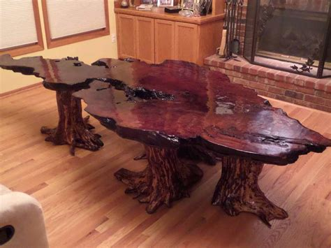 make a stump coffee table home ideas collection