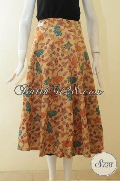 Rok Panjang Motif All Size shop batik terkenal di sedia rok batik model terbaru berbahan halus proses print