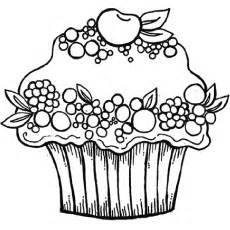 25 Lovely Cupcake Coloring Pages Your Toddler Will Love sketch template
