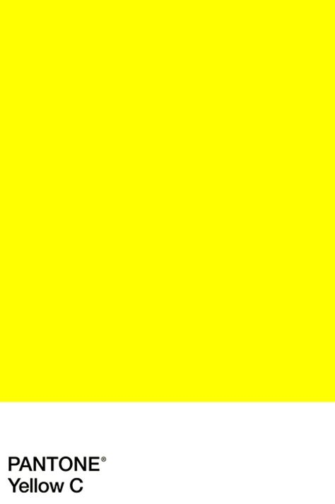 Pantone Yellow | pantone scd colour pinterest