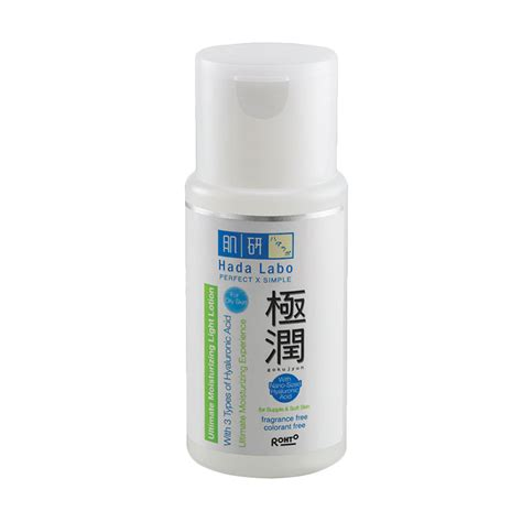 Pembersih Wajah Hada Labo jual hada labo gokujyun ultimate moisturizing light lotion 100 ml harga kualitas