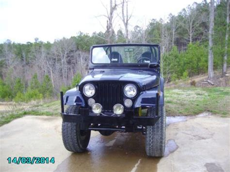 1974 Jeep Cj5 Parts Sell Used 1974 Jeep Renegade Cj5 4x4 6 Cylinder 3 Speed In
