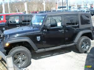 Call Jeep 2011 Black Jeep Wrangler Unlimited Call Of Duty Black Ops