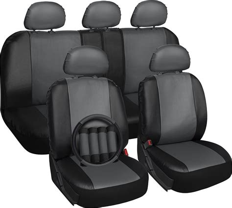 toyota leather seat covers faux leather seat covers for toyota rav4 gray steering