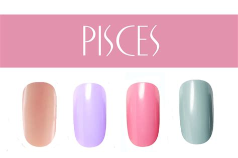 pisces colors pictures nail color by zodiac sign pisces nail colors