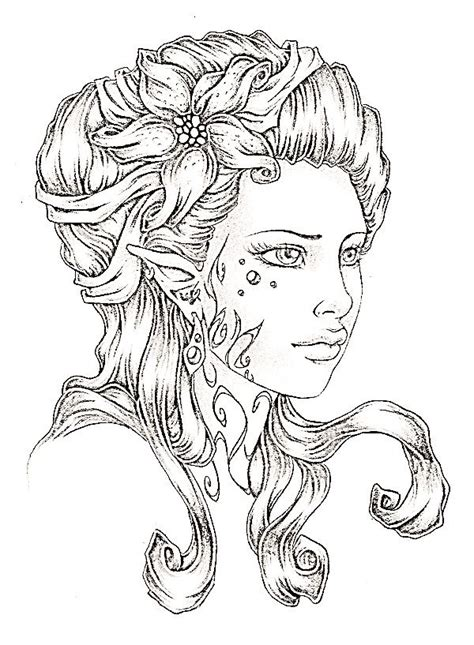 wood elves coloring pages 84 best images about elves coloring pages on pinterest