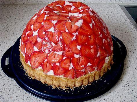 kuppel kuchen erdbeer kuppel torte rezepte suchen