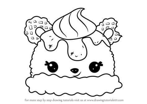 Coloring Page Num Noms by Nom Noms Free Coloring Pages