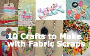 crafts to make fabulous friday 10 crafts to make with fabric scraps