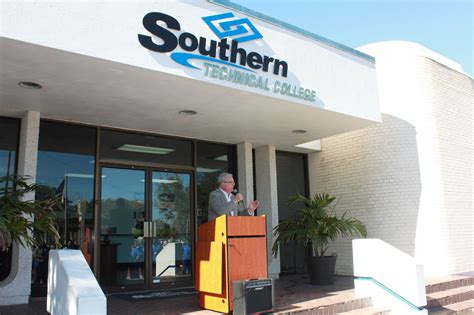 southern technical college welcomes auburndale mayor  appearance southern technical college