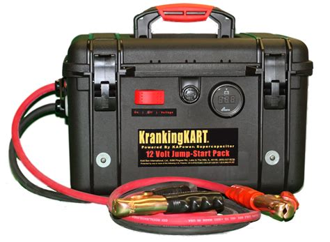 ultracapacitor jump starter krankingkarts supercapacitor ultracapacitor jump start carts battery booster