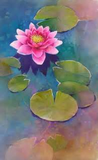 Lotus Flower Painting 25 Best Ideas About Lotus Painting On Black