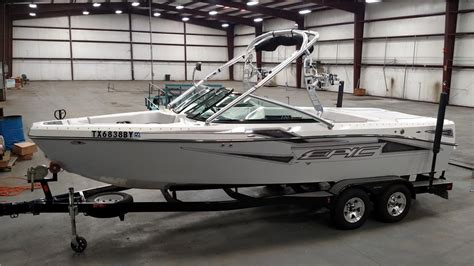 wake boat for sale in texas 2012 epic 23v wake surf boat for sale in cypress texas