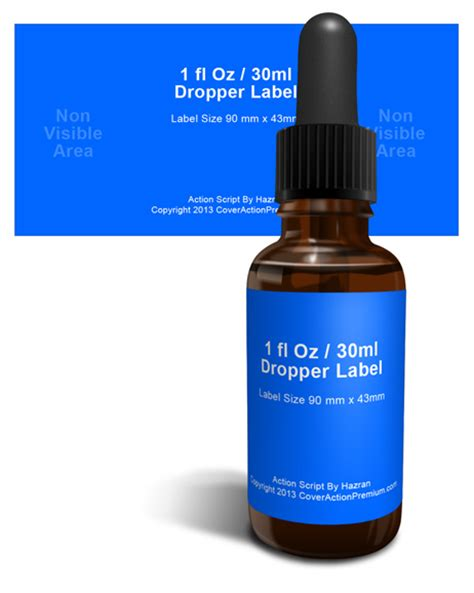1 Oz Dropper Bottles by 1 Fl Oz Dropper Bottle Mock Up Cover Actions Premium