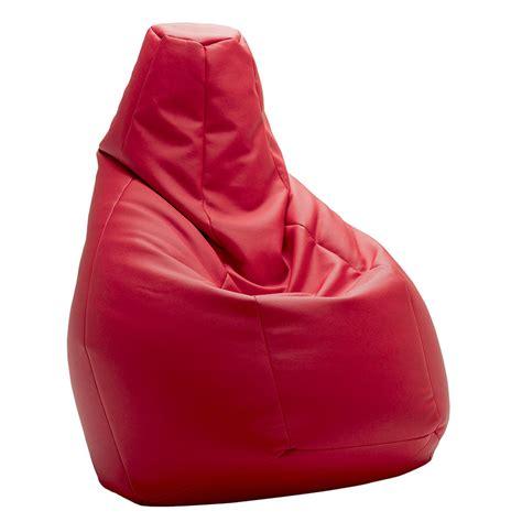 sacco poltrona zanotta zanotta poltrona anatomica sacco rosso pelle