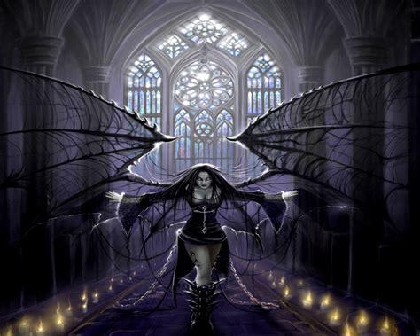 a gothic fantasy wall 1783617845 gothic dark angel with chains jpg 1280 215 1024 z gothic ideas gothic anime