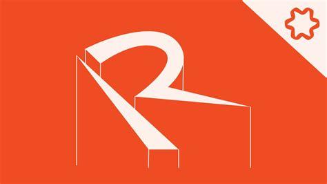 How To Design A Custom Font Letter R custom letter r logo design without font logo adobe
