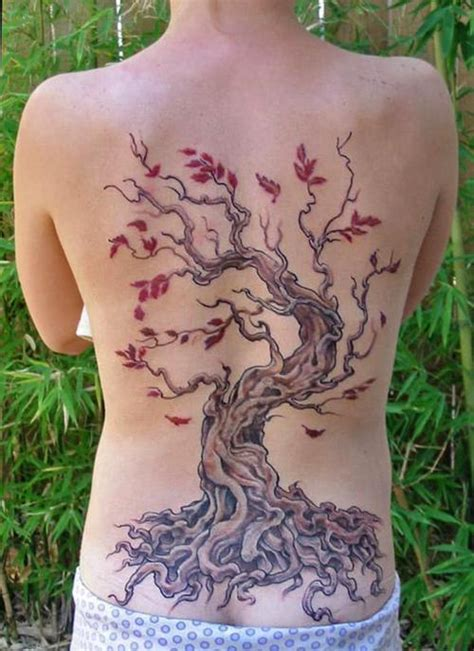 tree tattoo on back 15 stunning tree tattoos you ll these
