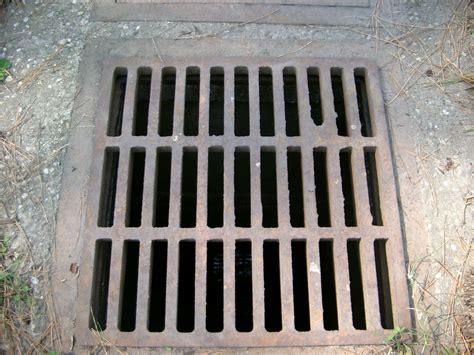 With Grate sewer grate 01 by rykos stock on deviantart